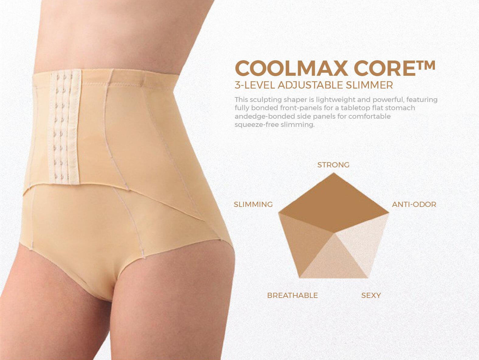 กางเกงเอวสูง Coolmax Core